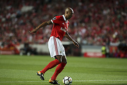 September 23, 2017 - Lisbon, Portugal - Benfica's defender Luisao controls the ball during the Portuguese League  football match between SL Benfica and FC Pacos de Ferreira at Luz  Stadium in Lisbon on September 23, 2017. (Credit Image: © Carlos Costa/NurPhoto via ZUMA Press)