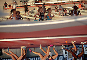 Runners compete in a preliminary of the women's 3,000-meter steeplechase during the NCAA outdoor track and field championships Thursday, June 6, 2019, in Austin, Texas. NICK WAGNER / AMERICAN-STATESMAN