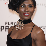 Sinitta Arrive The Nelson Mandela Foundation hosts dinner in memory of Nelson Mandela on what would have been the day before his 100 birthday on 24 April 2018 at Rosewood Hotel, London, UK.