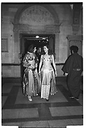 FRANCES DUTHIE, MELISSA CARRUTH, , Sultans Ball. Oxford Town Hall, March 1986