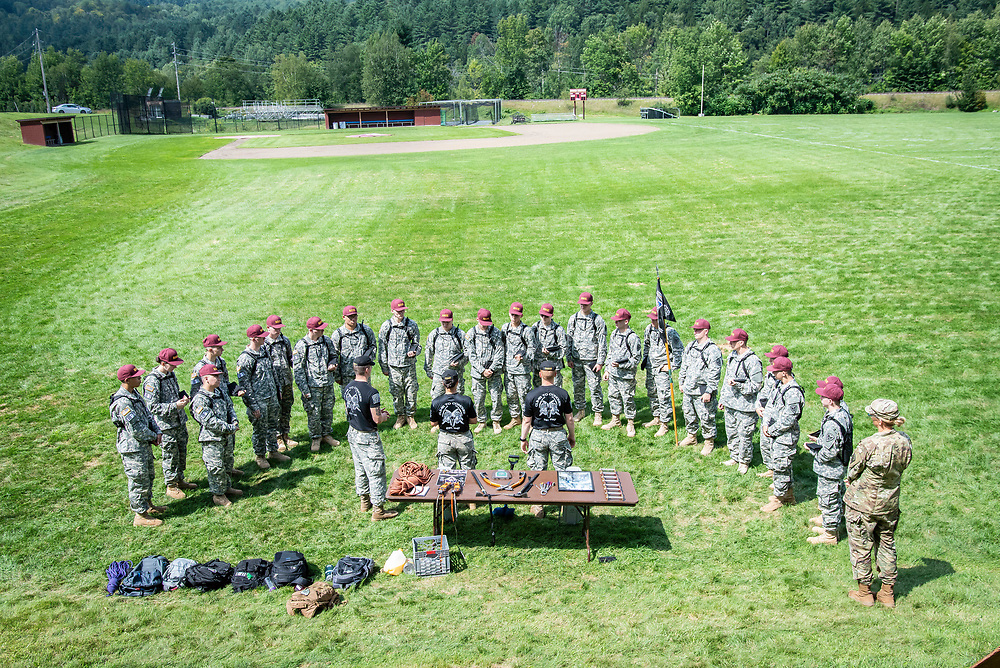 General Arrival photos for Corps and Civilian students