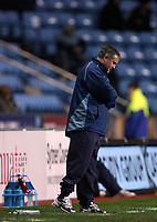 Photo: Rich Eaton.<br /> <br /> Coventry City v Bristol City. The FA Cup. 16/01/2007. Micky Adams, the Coventry City manager watches his team lose 2-0 at home to Bristol