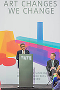 Lord Browne speaks - The new Tate Modern will open to the public on Friday 17 June. The new Switch House building is designed by architects Herzog & de Meuron, who also designed the original conversion of the Bankside Power Station in 2000.