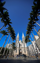 June 10, 2017 - Sao Paulo, Brazil - View of the Sé Cathedral in the old center of Sao Paulo (Credit Image: © Dario Oliveira via ZUMA Wire)