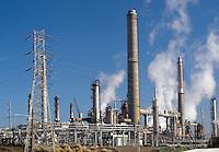 Oil refinery in Martinez, California.