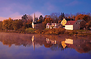 Image of a pastoral fall scene near Rockport, Maine, American Northeast by Randy Wells