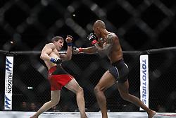 May 28, 2017 - Stockholm, Sweden - Nico Musoke, Sweden - Bojan Velickovic, USA..UFC Fight Night: Ericsson Globe, Stockholm, Sweden, 2017-05-28..(c) Patrik C Österberg / IBL (Credit Image: © Patrik C ÖSterberg/IBL via ZUMA Press)