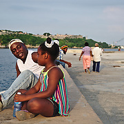 The 8 km long avenue where everyone in Havana gathers as the day ends.