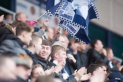 Main stand. Falkirk 2 v 1 Dunfermline, Scottish Championship game played 15/10/2016, at The Falkirk Stadium.
