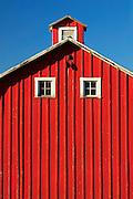 Red Barn in Washington's Palouse region.