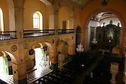 Manaus_AM, Brasil. ..Na foto o interior da Igreja Matriz Nossa Senhora da Conceicao em Manaus, Amazonas...Inside the Mother Church Nossa Senhora da Conceicao in Manaus, Amazonas...Foto: JOAO MARCOS ROSA / NITRO.