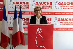 May 13, 2019 - Paris, France - Marie-Noelle Lienemann a la conference de presse de la Gauche Republicaine et Socialiste (Credit Image: © Panoramic via ZUMA Press)