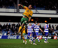 Queens Park Rangers v Norwich City 030309