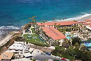 Aerial Stock Photo of the Ritz Carlton with Ocean View