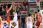DESCRIZIONE : Roma Lega serie A 2013/14 Acea Virtus Roma Grissin Bon Reggio Emilia<br /> GIOCATORE : Kaukenas Rimantas<br /> CATEGORIA : rimbalzo<br /> SQUADRA : Grissin Bon Reggio Emilia<br /> EVENTO : Campionato Lega Serie A 2013-2014<br /> GARA : Acea Virtus Roma Grissin Bon Reggio Emilia<br /> DATA : 22/12/2013<br /> SPORT : Pallacanestro<br /> AUTORE : Agenzia Ciamillo-Castoria/ManoloGreco<br /> Galleria : Lega Seria A 2013-2014<br /> Fotonotizia : Roma Lega serie A 2013/14 Acea Virtus Roma Grissin Bon Reggio Emilia<br /> Predefinita :
