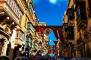 Old Bakery Street, Valletta, Malta