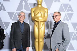 """Jeffrey Friedman and Rob Epstein of the Oscar® nominated documentary short subject """"End Game"""" prior to the Academy of Motion Picture Arts and Sciences' """"Oscar Week: Documentaries"""" event on Tuesday, February 19, 2019 at the Samuel Goldwyn Theater in Beverly Hills. The Oscars® will be presented on Sunday, February 24, 2019, at the Dolby Theatre® in Hollywood, CA and televised live by the ABC Television Network."""