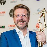 NLD/Amsterdam/20170328 - Uitreiking Tv Beelden 2017, De winnaar beste regie voor een dramaserie Norbert ter Hall, A'dam – E.V.A.