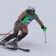 Winter Olympics, Vancouver, 2010.Hubertus Von Hohenlohe, Mexico,  in action during the Alpine Skiing, Men's Slalom at Whistler Creekside, Whistler, during the Vancouver Winter Olympics. 27th February 2010. Photo Tim Clayton