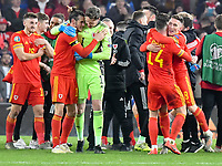 Football - 2019 / 2020 UEFA European Championships Qualifier - Group E: Wales vs. Hungary<br /> <br /> , at Cardiff City Stadium.<br /> <br /> COLORSPORT/WINSTON BYNORTH