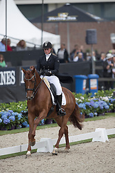 De Jong Priscilla, BEL, Electra DDJ<br /> World Championship Young Dressage Horses <br /> Ermelo 2016<br /> © Hippo Foto - Dirk Caremans<br /> 29/07/16