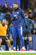 Chelsea midfielder Ruben Loftus-Cheek (12) warms up prior to the The FA Cup fourth round match between Chelsea and Sheffield Wednesday at Stamford Bridge, London, England on 27 January 2019.