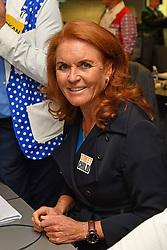 September 12, 2018 - London, England, United Kingdom - 9/11/18.Sarah Ferguson The Duchess of York at the 14th Annual BGC Charity Day at BGC Partners in Canary Wharf, London, England, UK. (Credit Image: © Starmax/Newscom via ZUMA Press)