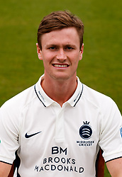 Middlesex's Nick Gubbins  during the media day at Lord's Cricket Ground, London. PRESS ASSOCIATION Photo. Picture date: Wednesday April 11, 2018. See PA story CRICKET Middlesex. Photo credit should read: John Walton/PA Wire. RESTRICTIONS: Editorial use only. No commercial use without prior written consent of the ECB. Still image use only. No moving images to emulate broadcast. No removing or obscuring of sponsor logos.