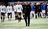 Fotball ,11. mars 2018 , Eliteserien , Sarpsborg - Rosenborg 1-0<br /> Kåre Ingebrigtsen og RBK depper etter tap