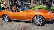 Chevrolet Corvette Stingray at the Huntington beach car show March 2016