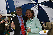 CHIEF EXECUTIVE OF SAGA  INSURANCE SERVICES ANDREW GOODSELL AND HIS WIFE VIRGINIA. Press Preview of the RHS Chelsea Flower Show sponsored by Saga Insurance Services. Royal Hospital Rd. London. 22 May 2006. ONE TIME USE ONLY - DO NOT ARCHIVE  © Copyright Photograph by Dafydd Jones 66 Stockwell Park Rd. London SW9 0DA Tel 020 7733 0108 www.dafjones.com