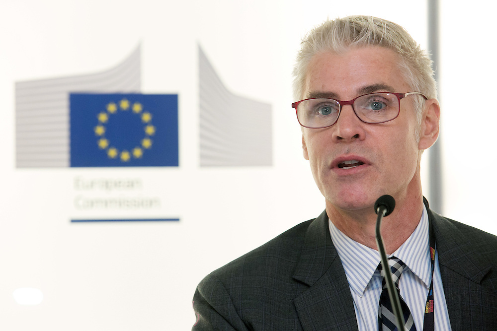 04 June 2015 - Belgium - Brussels - European Development Days - EDD - Financing - Unlocking private and public finance for sustainable growth - Tillman Bruett , Programme Manger , Mobile Banking for the Poor , United Nations Capital Development Fund (UNCDF) © European Union