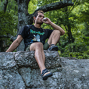 Zach Groves, 23, is a climbing instructor at Brooklyn Boulders in New York City. His whole life revolves around climbing. He aspires to free climb El Capitan in Yosemite one day.