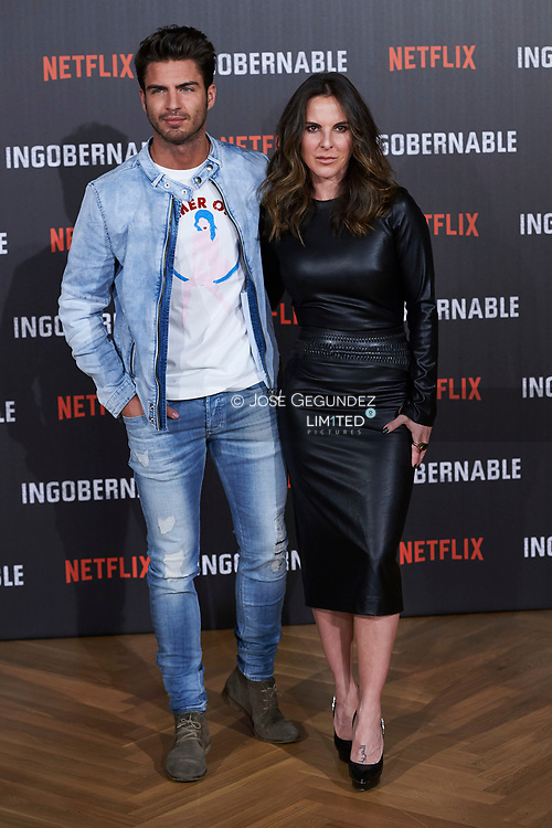 Maxi Iglesias, Kate del Castillo attended Netflix's 'Ingobernable' photocell at Ritz Hotel on March 29, 2017 in Madrid
