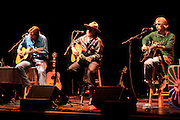 Robert Earl Keen, Todd Snider & Bruce Robison at the Wellmont Theater, Montclair, NJ 10/31/2009.