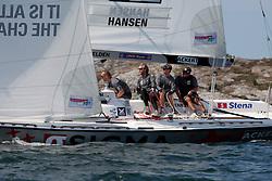 Hansen v Radich. Photo: Dan Ljungsvik