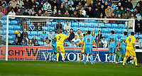 Photo: Ed Godden.<br />Coventry City v Sheffield Wednesday. Coca Cola Championship. 18/11/2006. Chris Brunt (out of picture) opens the scoring for Sheffield Wednesday.