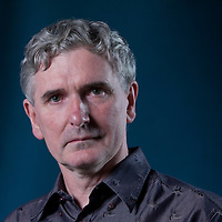 Mike Carey, the British writer of comic books, novels, and films, at the Edinburgh International Book Festival 2015. Edinburgh, Scotland. 22nd August 2015 <br /> <br /> Photograph by Gary Doak/Writer Pictures<br /> <br /> WORLD RIGHTS