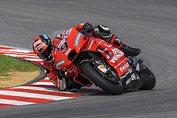February 6, 2019 - Sepang, SGR, U.S. - SEPANG, SGR - FEBRUARY 06:  Danilo Petrucci of Mission Winnow Ducati Racing Team in action during the first day of the MotoGP official testing session held at Sepang International Circuit in Sepang, Malaysia. (Photo by Hazrin Yeob Men Shah/Icon Sportswire) (Credit Image: © Hazrin Yeob Men Shah/Icon SMI via ZUMA Press)