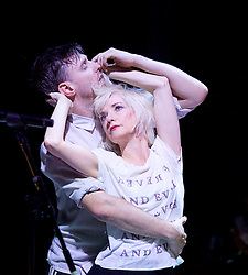 If You Kiss Me, Kiss Me                                    <br /> Conceived by Jane Horrocks and Aletta Collins<br /> at The Young Vic Theatre, London, Great Britain <br /> Press photocall <br /> 14th March 2016 <br /> <br /> <br /> Jane Horrocks<br /> Conor Doyle<br /> <br /> <br /> <br /> Photograph by Elliott Franks <br /> Image licensed to Elliott Franks Photography Services
