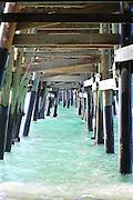 Under the San Clemente Pier