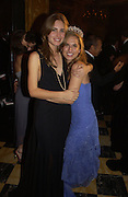 Lauren ( in black)  and Ashley Bush, The 2005 Crillon Debutante Ball. Crillon Hotel, Paris. 26  November 2005. ONE TIME USE ONLY - DO NOT ARCHIVE  © Copyright Photograph by Dafydd Jones 66 Stockwell Park Rd. London SW9 0DA Tel 020 7733 0108 www.dafjones.com