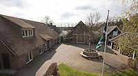 LOCHEM -   clubhuis met binnenplaats. Lochemse Golf Club De Graafschap. COPYRIGHT KOEN SUYK