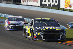 August 5, 2018 - Watkins Glen, New York, United States of America - Jimmie Johnson (48) brings his car through the turns during the Go Bowling at The Glen at Watkins Glen International in Watkins Glen , New York. (Credit Image: © Chris Owens Asp Inc/ASP via ZUMA Wire)