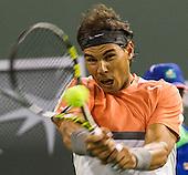 Tennis: BNP Paribas Open 2014 Rafael Nadal vs Radek Stepanek