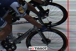 July 7, 2017 - Nuits-Saint-Georges, FRANCE - ATTENTION EDITORS: MANDATORY CREDIT: ''A.S.O. // Free of rights photo'' ..This handout picture shows the photo finish, German Marcel Kittel of Quick-Step Floors (lower) wins before Norway's Edvald Boasson Hagen of Dimension Data the sprint at the finish of the seventh stage of the 104th edition of the Tour de France cycling race, 213,5 km from Troyes to Nuits-Saint-Georges, France, Friday 07 July 2017. This year's Tour de France takes place from July first to July 23rd...BELGA PHOTO HANDOUT ASO (Credit Image: © Handout Aso/Belga via ZUMA Press)