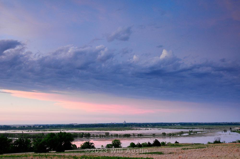 Photograph taken in Alma Nebraska, a small town on the Republican River.