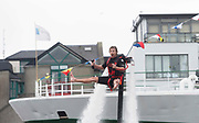 01/072017 REPRO FREE:  Beau Weston World Champion flyboarder took  a JETPACK for a spin at Seafest 2017, the National Maritime Festival which ran at the weekend  in Galway.<br /> . Photo:Andrew Downes, xposure .