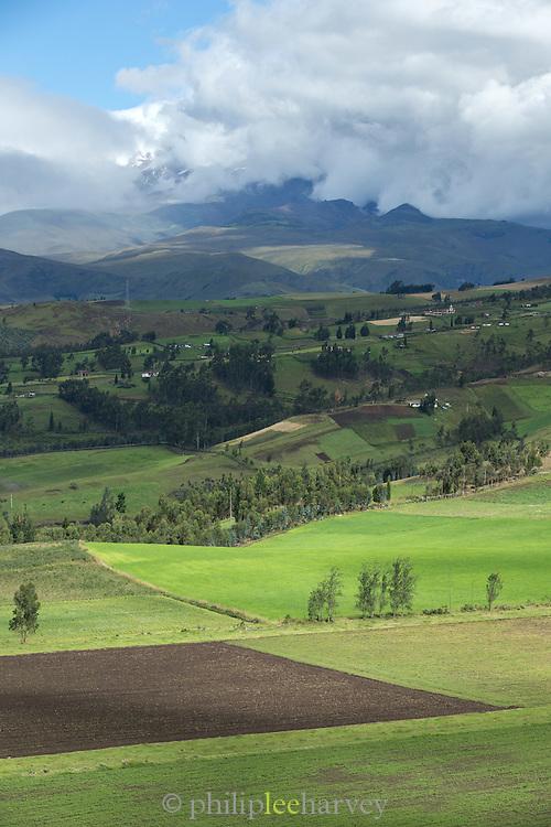 Rural Landscape, Otavalo, Ecuador, South America