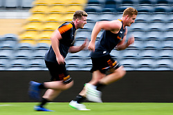 Niall Annett and GJ van Velze or Worcester Warriors during preseason training ahead of the 2019/20 Gallagher Premiership Rugby season - Mandatory by-line: Robbie Stephenson/JMP - 06/08/2019 - RUGBY - Sixways Stadium - Worcester, England - Worcester Warriors Preseason Training 2019